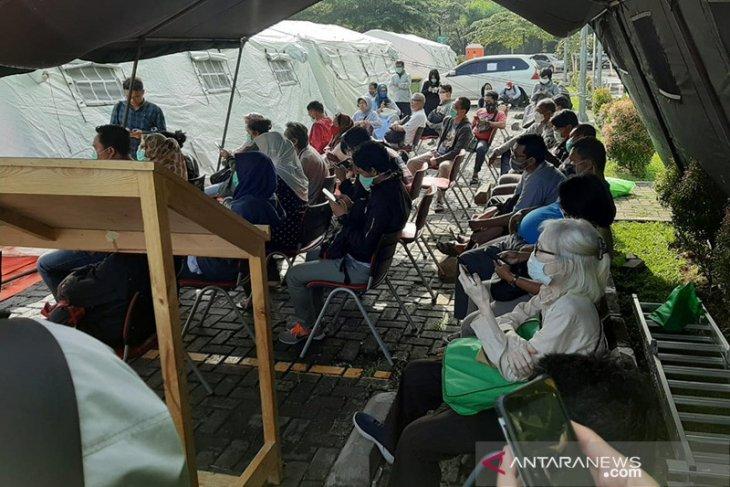 13,065 South Jakarta residents undergo COVID-19 rapid test