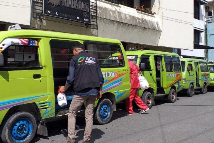 ACT-MRI Maluku lakukan disinfektan cegah COVID-19 di Ambon