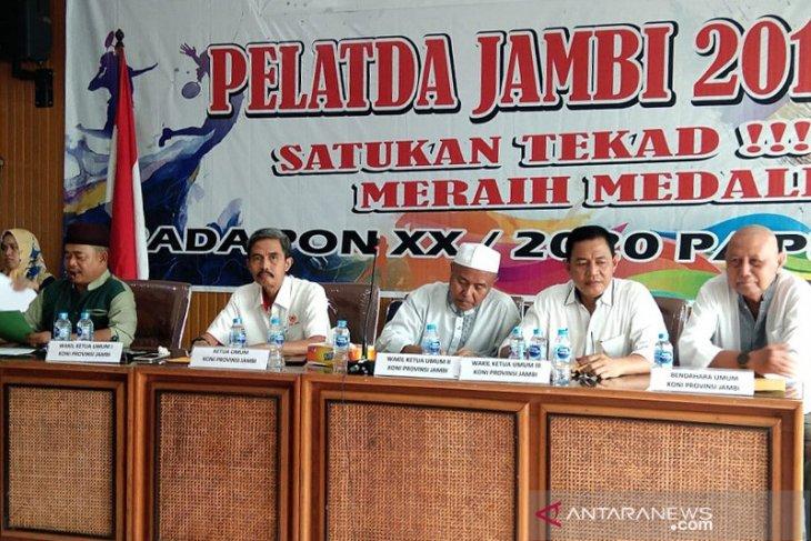 Diskepora Jambi masih tunggu daftar atlet  yang akan berlaga di PON Papua