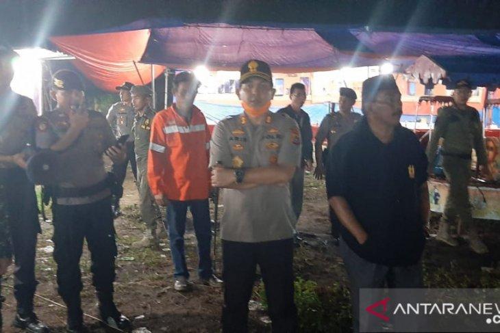 Kapolres Bangka hentikan aktivitas pasar malam (Video)