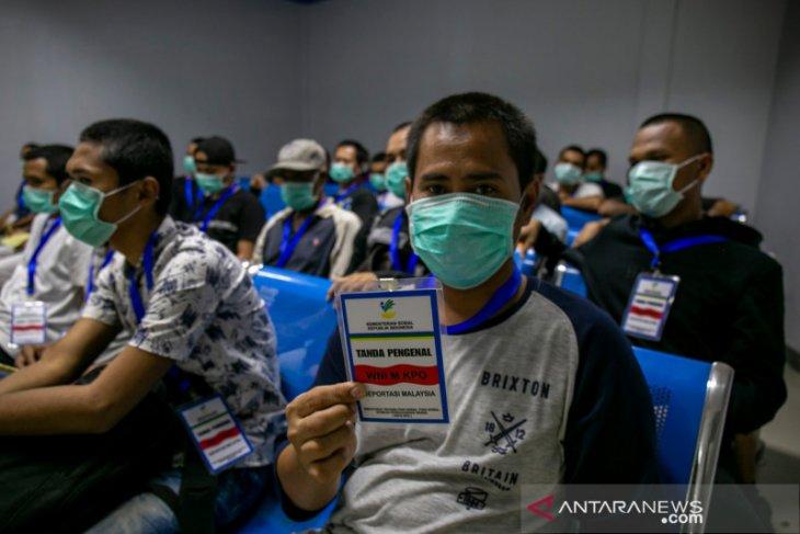 BP2MI Kalimantan Barat proses pemulangan 73 pekerja Indonesia dari Malaysia