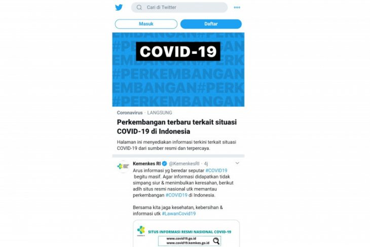 Berita dunia - Turki tangkap ratusan orang terkait unggahan provokatif soal COVID-19