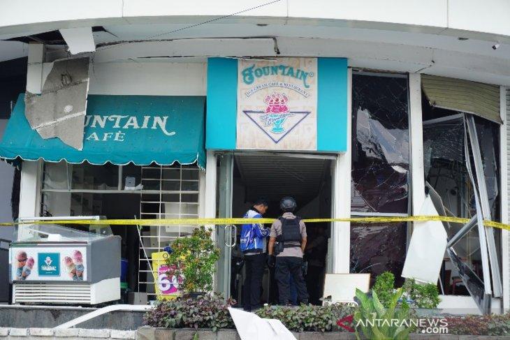 Pascaledakan, Polisi tutup sementara Plaza Ramayana Medan