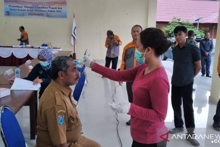 KPU Kabupaten Teluk Wondama tunda tahapan Pilkada 2020
