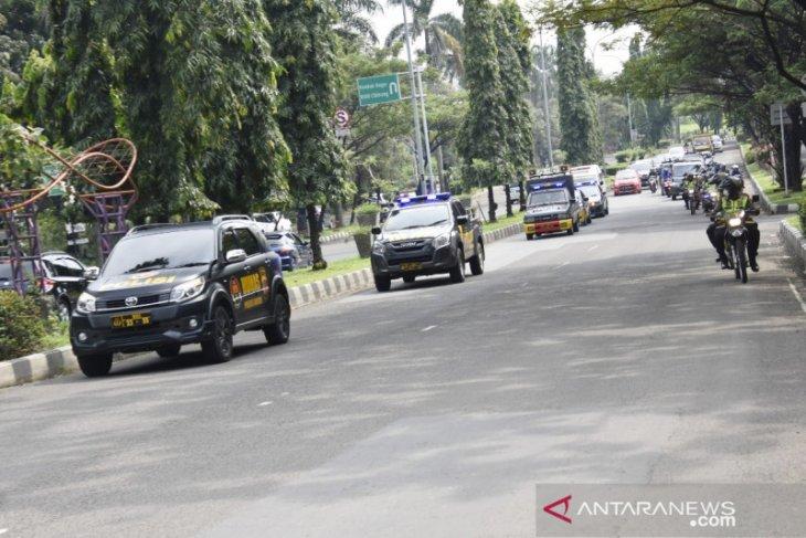 Aktivitas warga Bogor di luar rumah menurun
