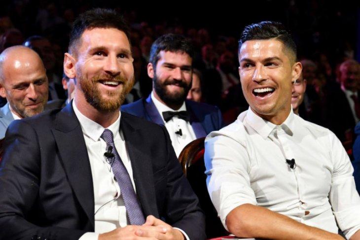Ronaldo dan Messi sumbang Rp17,7 miliar lawan COVID-19