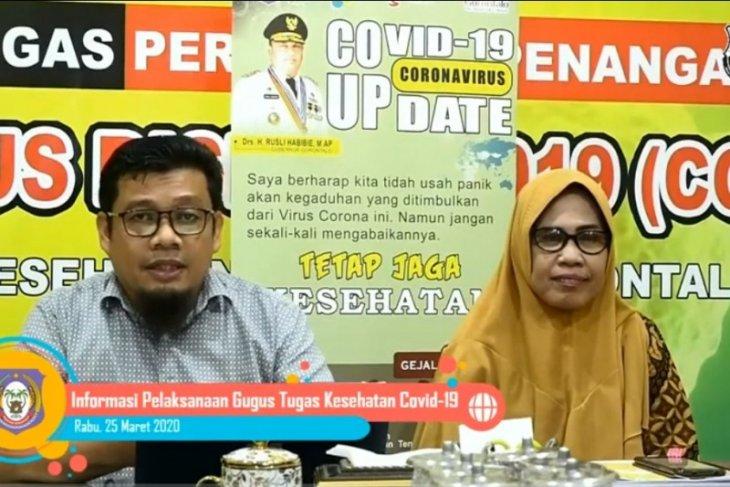 Gorontalo masih menunggu kiriman