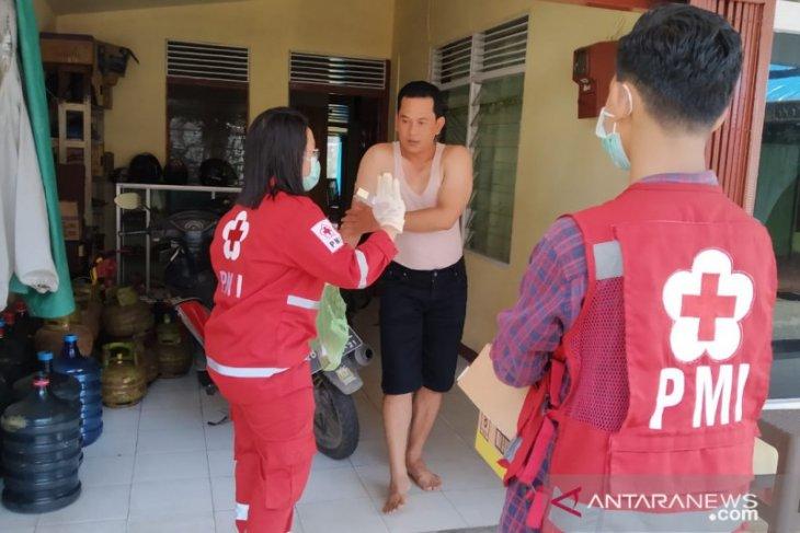 Cegah Corona, PMI Pontianak Ajak Cuci Tangan dan Sebar Hand Sanitizer