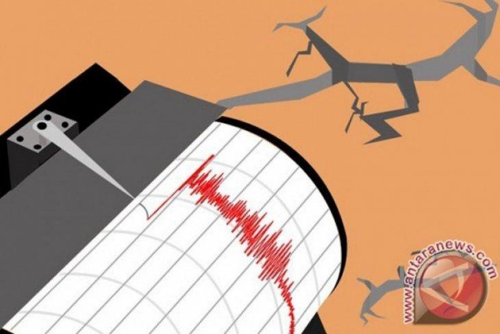 Moderate quake hits North Sulawesi's Minahasa District