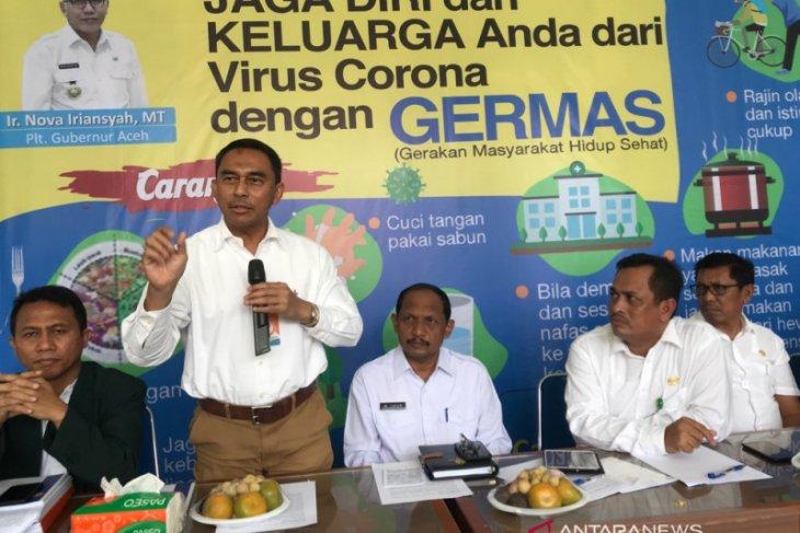 Aceh laporkan kasus pertama COVID-19