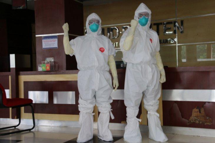 RSUD Banten rawat 14 pasien,  satu diantaranya positif terjangkit COVID-19