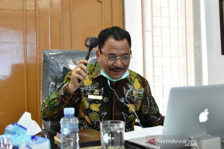 Banmus DPRD Kalsel rapat gunakan video conference
