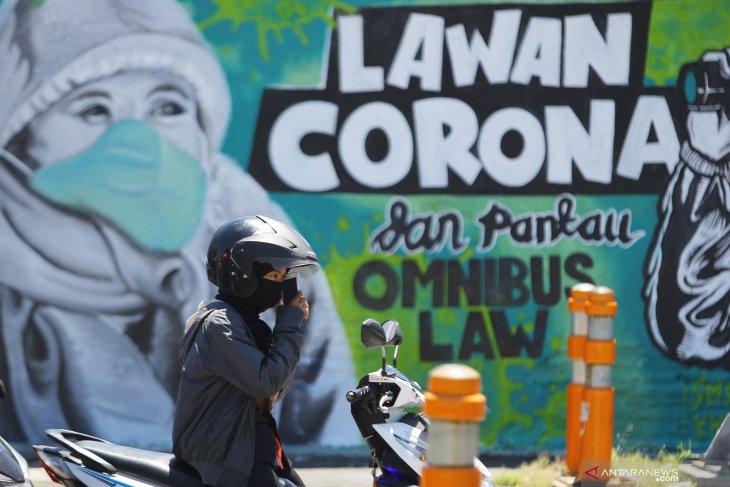 Mural Lawan Corona