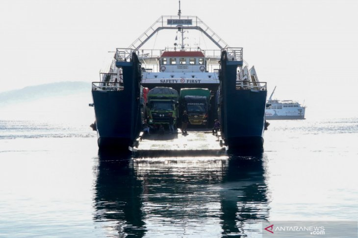 Pelabuhan Ketapang Gilimanuk kembali beroperasi