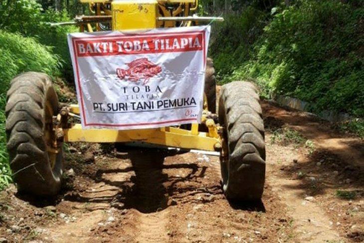 PT STP perbaiki infrastruktur jalan Tambun Raya Simalungun