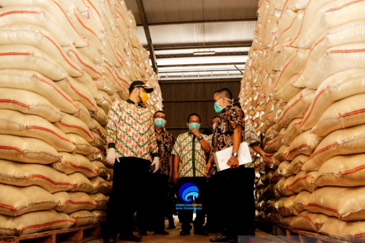 Stok beras di Kota Probolinggo dipastikan aman di tengah pandemi COVID-19