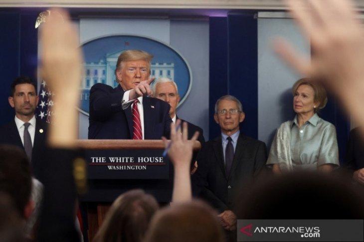 Trump tuding WHO condong ke China, gagal tangani virus corona