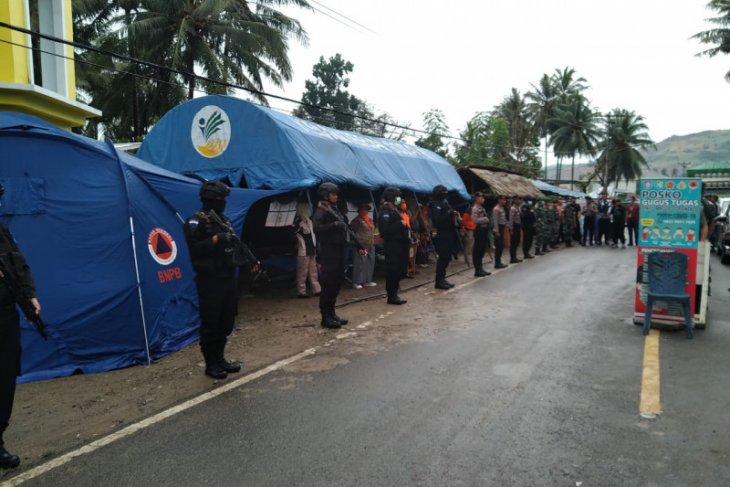 80 personil Polda jaga perbatasan Gorontalo