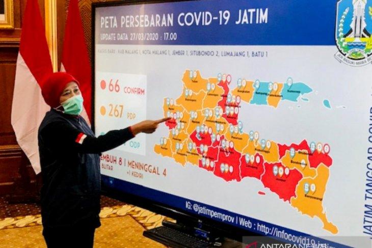 Empat kabupaten/kota ini tambah daftar daerah di Jatim terjangkit COVID-19