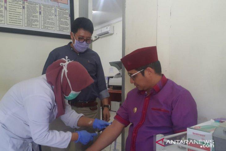 Tiba di Palu, Pasha Ungu jalani pemeriksaan kesehatan