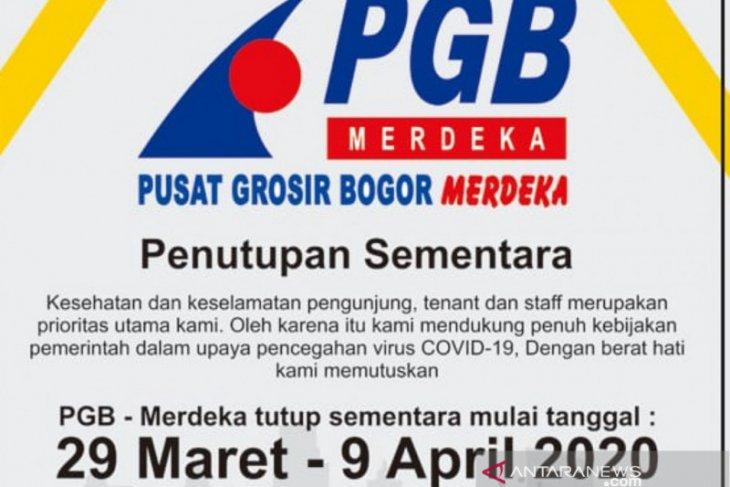 Satu lagi mall di Kota Bogor tutup sementara