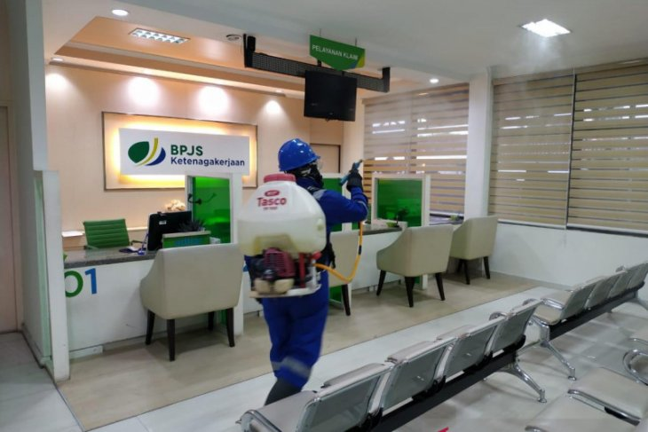BPJAMSOSTEK Bali-Denpasar terapkan protokol Lapak Asik