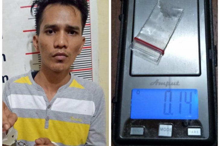 Polisi Gebang Langkat tangkap Adit karena miliki sabu-sabu