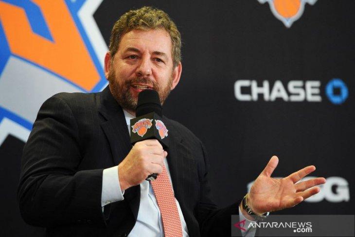 Pemilik Knicks dan Rangers, James Dolan dinyatakan positif COVID-19