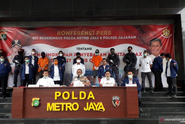 Polda Metro tangkap empat penyebar hoaks COVID-19