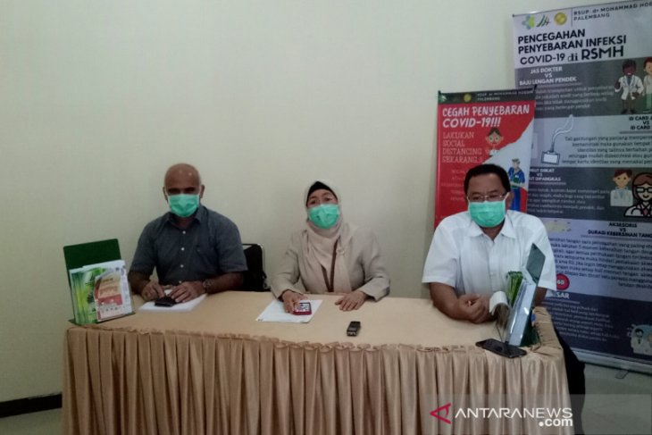 RSMH Palembang pulangkan empat PDP negatif corona