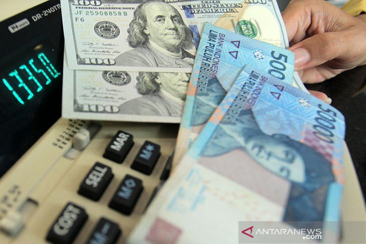Rupiah ends higher on US stimulus package
