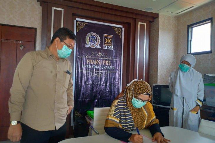 Fraksi PKS DPRD Kota Surabaya potong gaji untuk penanganan COVID-19