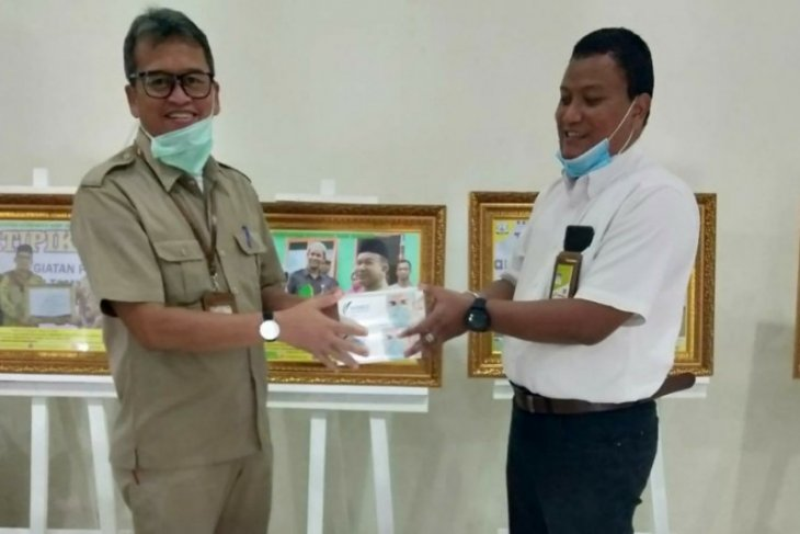Pertamina Rantau sinergi tanggulangi wabah corona di Aceh Tamiang