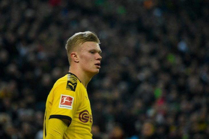 Haaland kembali ke skuat Dortmund setelah pulih dari cedera lutut