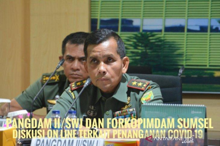 Panglima Kodam II/Sriwijaya instruksikan jajaran amankan Lebaran