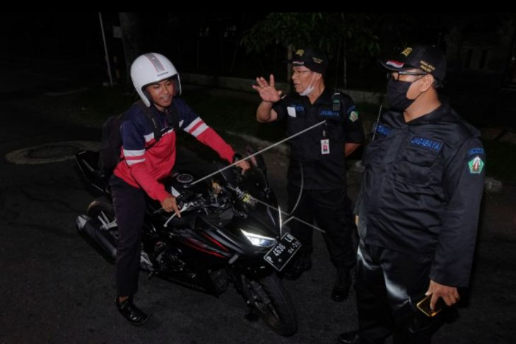 Pembatasan mobilitas orang di kawasan Panjer