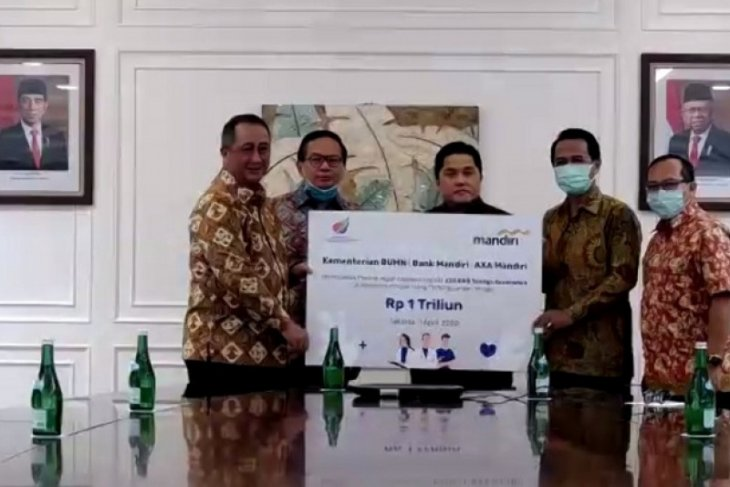 Bank Mandiri offering life insurance to health workers: SOE minister
