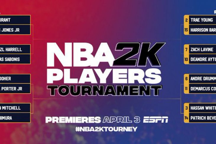 Turnamen NBA2K diharapkan jadi pereda rasa haus fans NBA