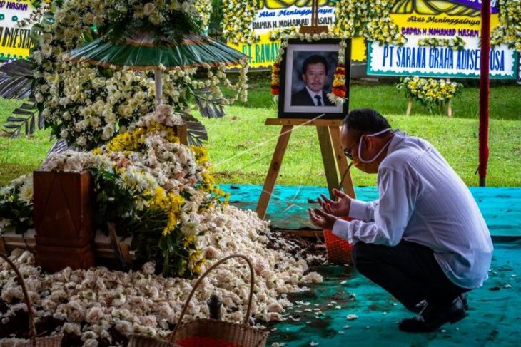 Pemakaman Bob Hasan