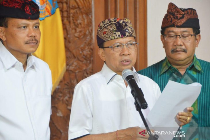 Bali Governor issues instruction to intensify prevention of COVID-19