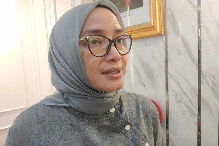 Evi Novida Ginting surati Presiden Jokowi