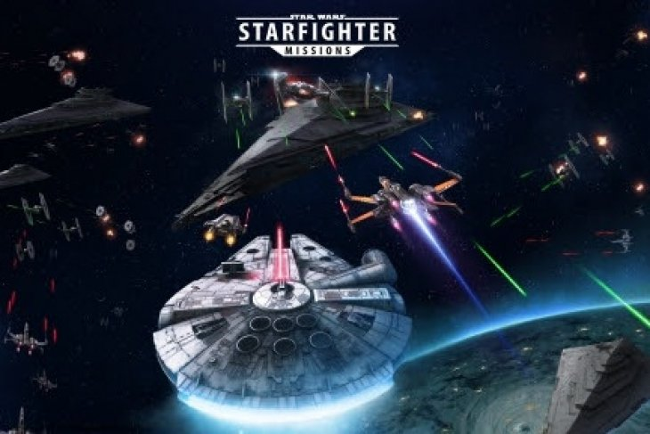 Pick a side and scramble your starfighters in Star Wars™: Starfighter Missions!