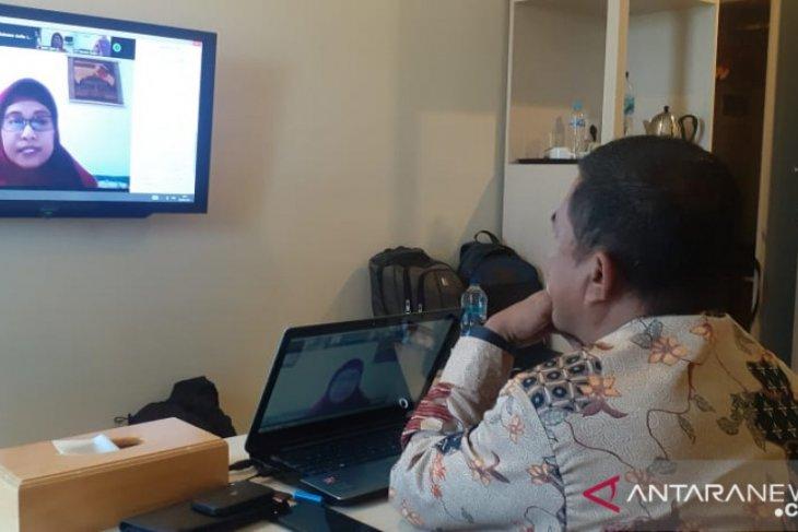 Kadis Kominfo Kabupaten Gorontalo ikuti diklat kepemimpinan secara daring