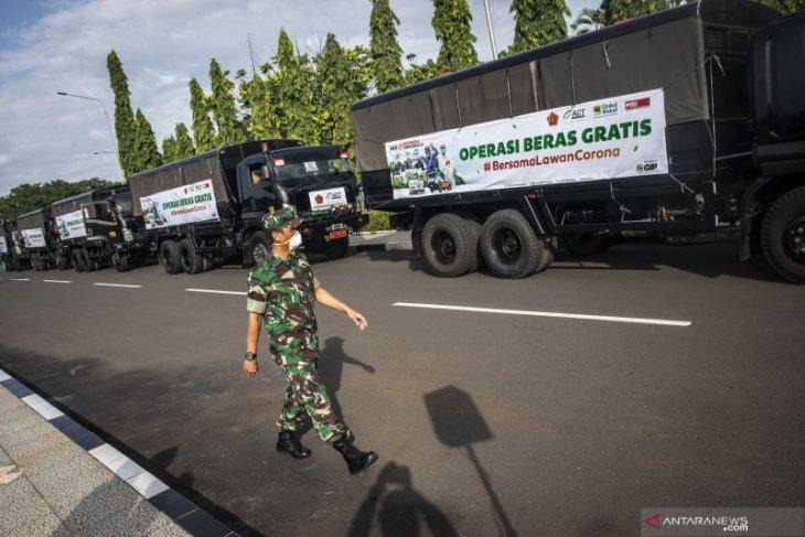 TNI-ACT gelar operasi pangan gratis kepada masyarakat