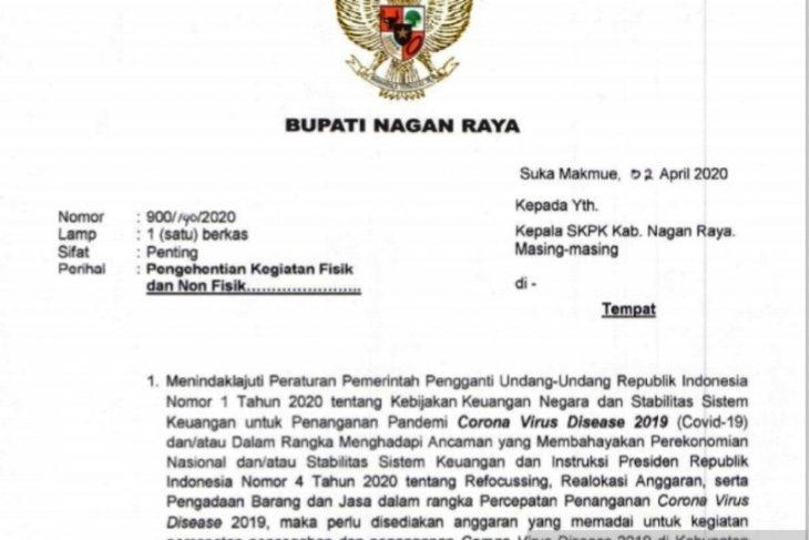 Pemkab Nagan Raya batalkan seluruh tender proyek APBK 2020