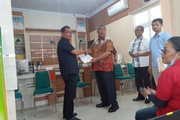 Amarullah Gultom Jabat Plt. Kadis Dukcapil Sibolga gantikan Ahmad Sitompul