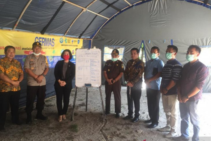 Pemkab Bangka Tengah terus ingatkan warga untuk tetap di rumah