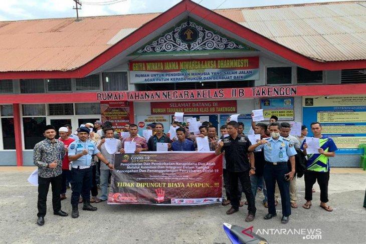 37 Warga Binaan Rutan Kelas Iib Takengon Dibebaskan Antara News Aceh