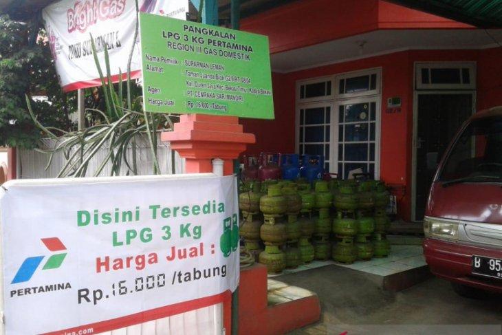 Pertamina tambah pasokan LPG subsidi 3 kilogram di Bekasi