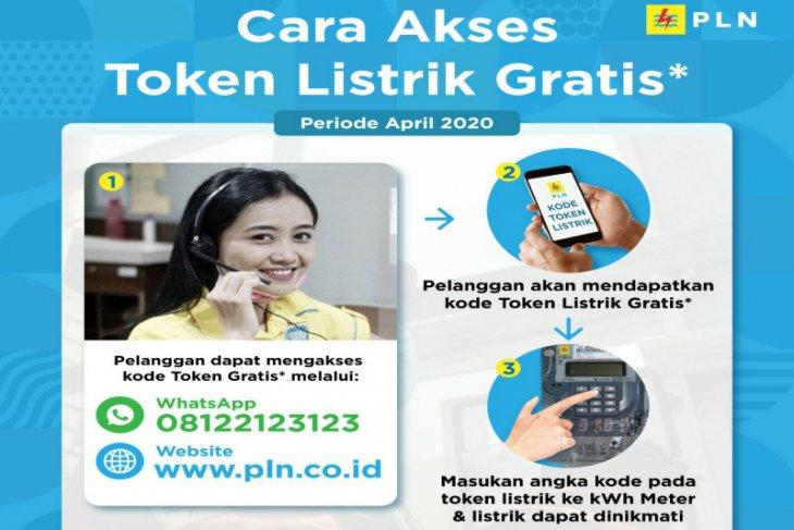 Silahkan klaim token gratis PLN mulai hari ini